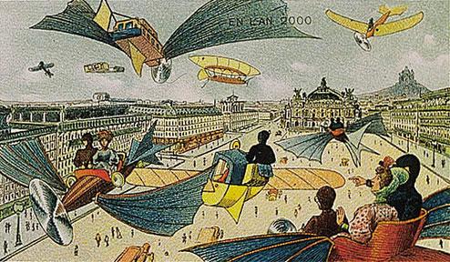 Maximilian Villemard ilustrace budoucnosti
