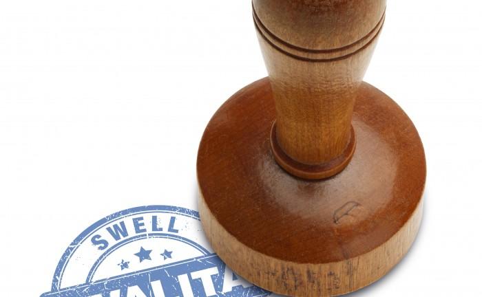 certifikát Swell kvality