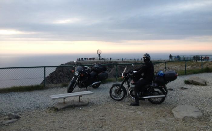 Na motorkách Lofoty