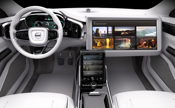 Budoucnost aut - Volvo Interier