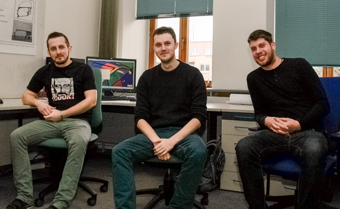 Tři konstruktéři