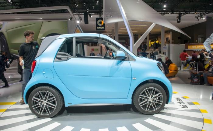 Nový Smart Fortwo cabrio