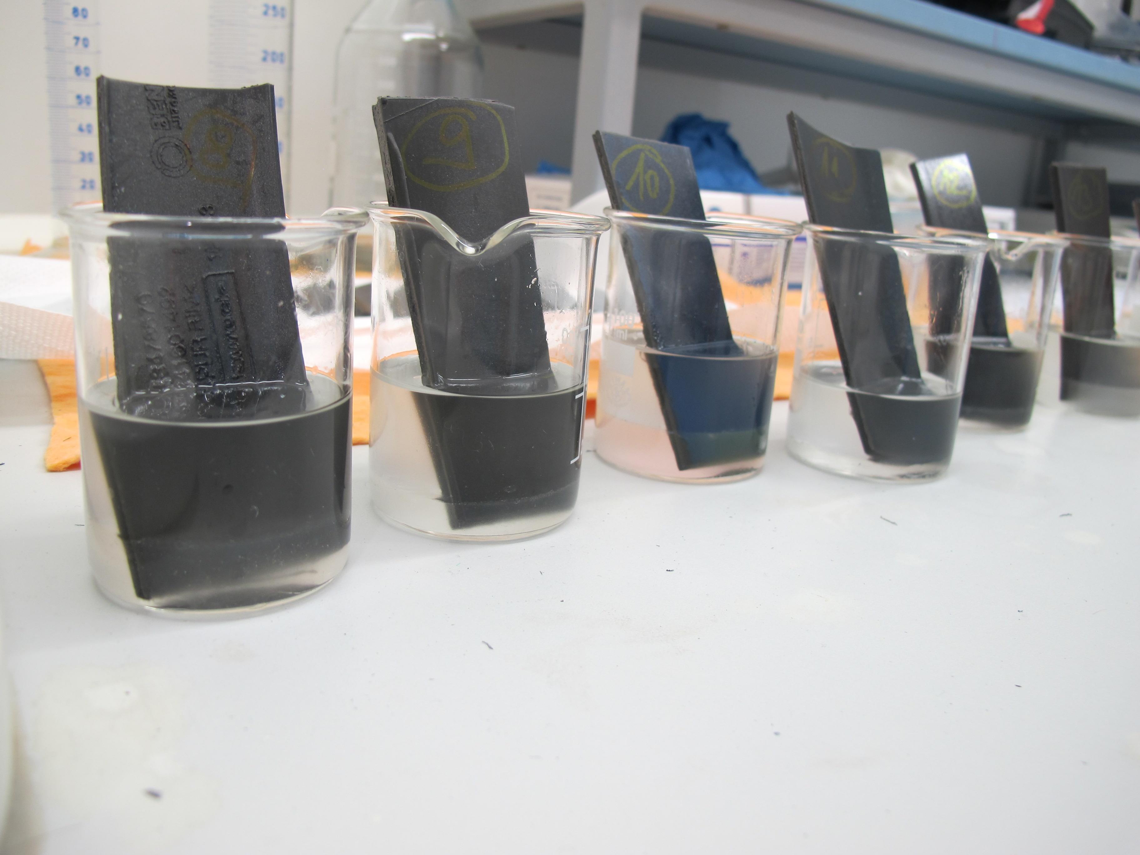 testování odolnosti gum