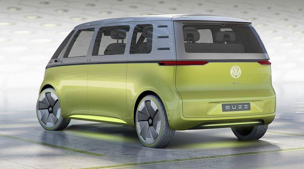 model Volkswagen I.D. Buzz