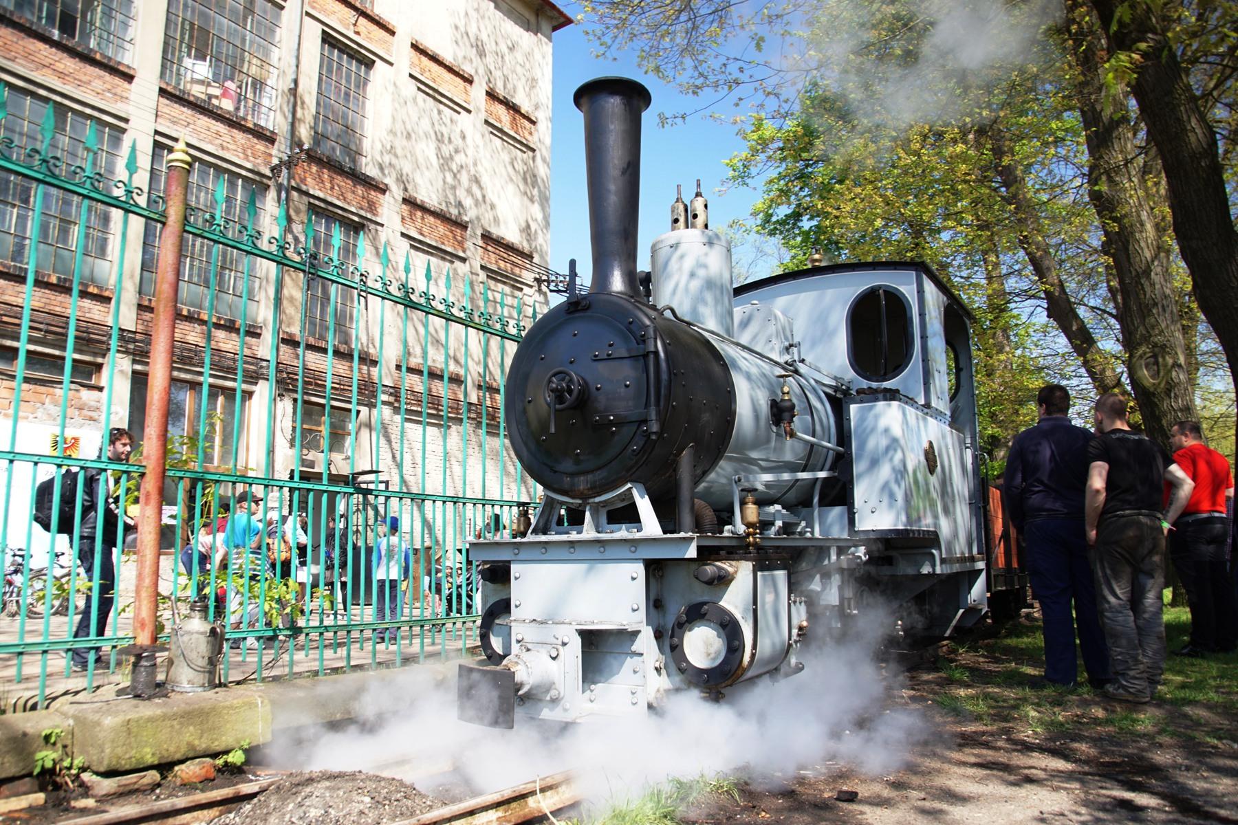 replika lokomotivy