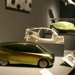 model bionického auta Mercedes