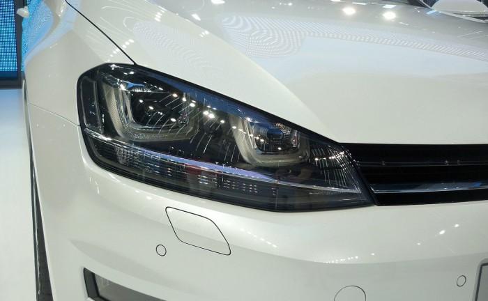 Volkwagen Golf světlo a nárazník