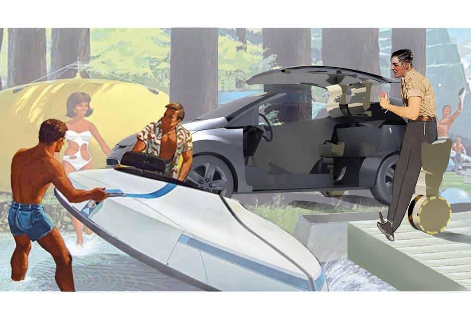 Koncept Fordu Fiesta budoucnosti