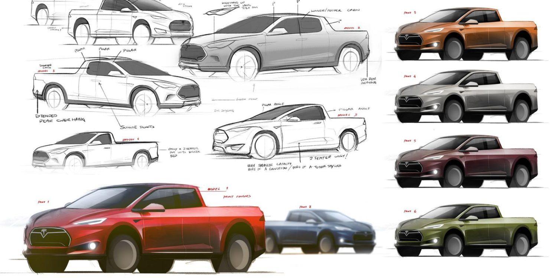 Pick-up Tesla