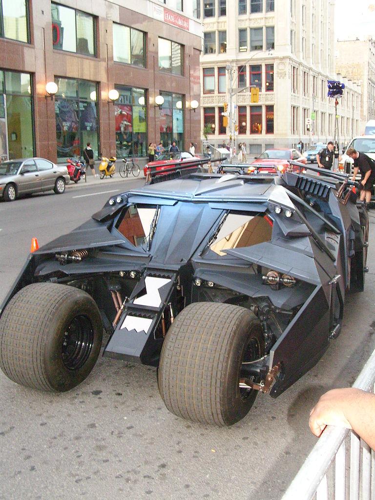 Batmobil Tumbler | Foto: Wikimedia