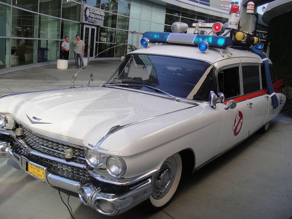 Cadillac Ecto-1 z filmu Krotitelé duchů | Foto: Wikimedia