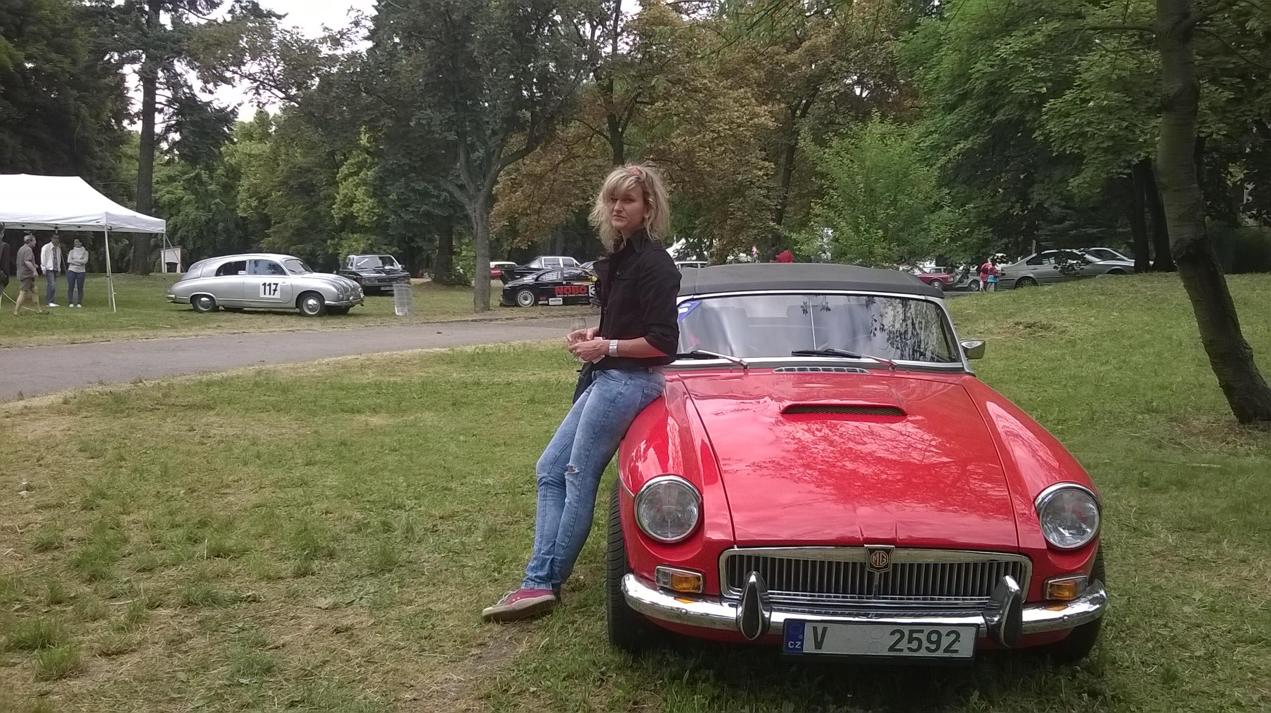 Ze Žižkova na Stelvio s MG | Foto:Tereza Příbramská