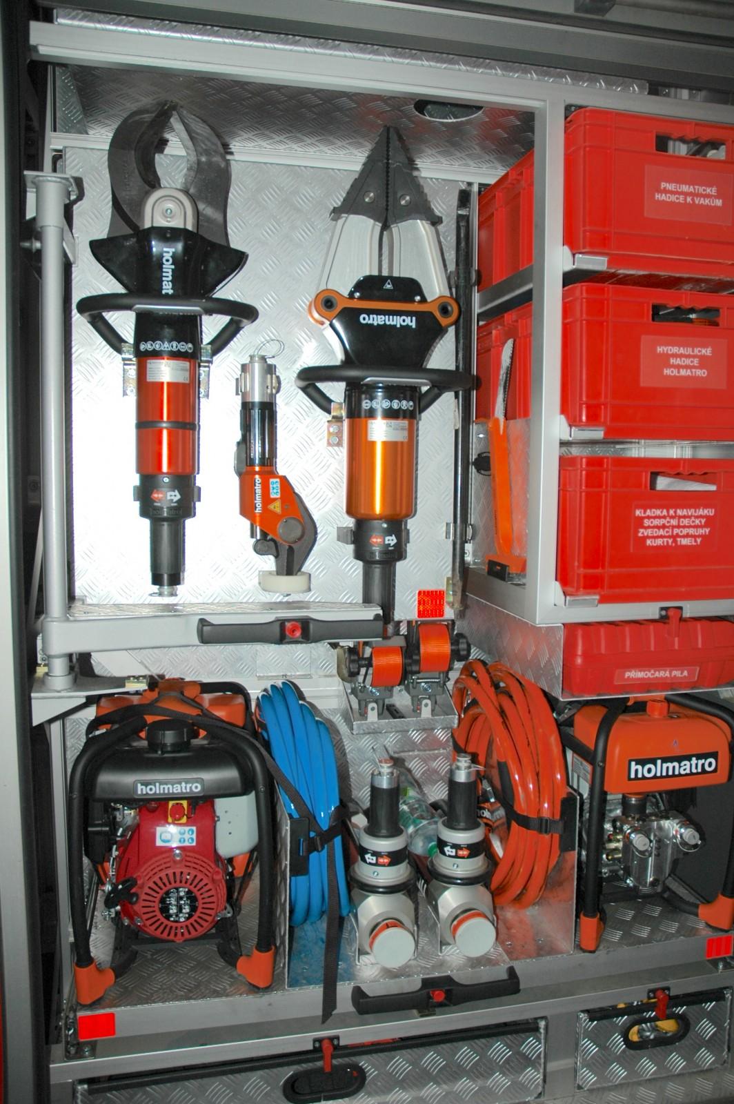 Vybavení hasičů   Foto: Swell