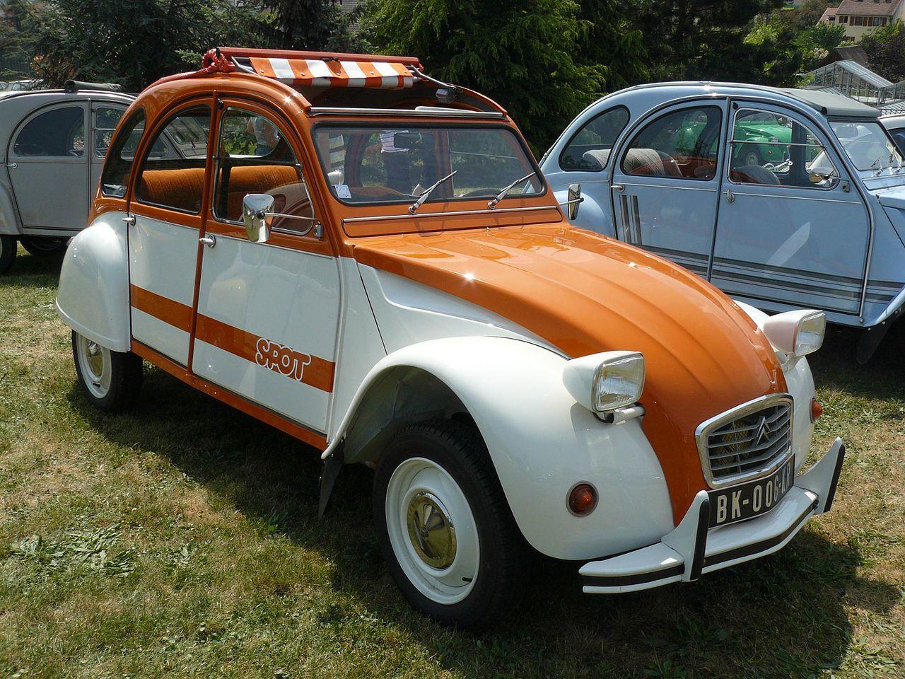 Citroën 2CV | Foto: Wikipedia