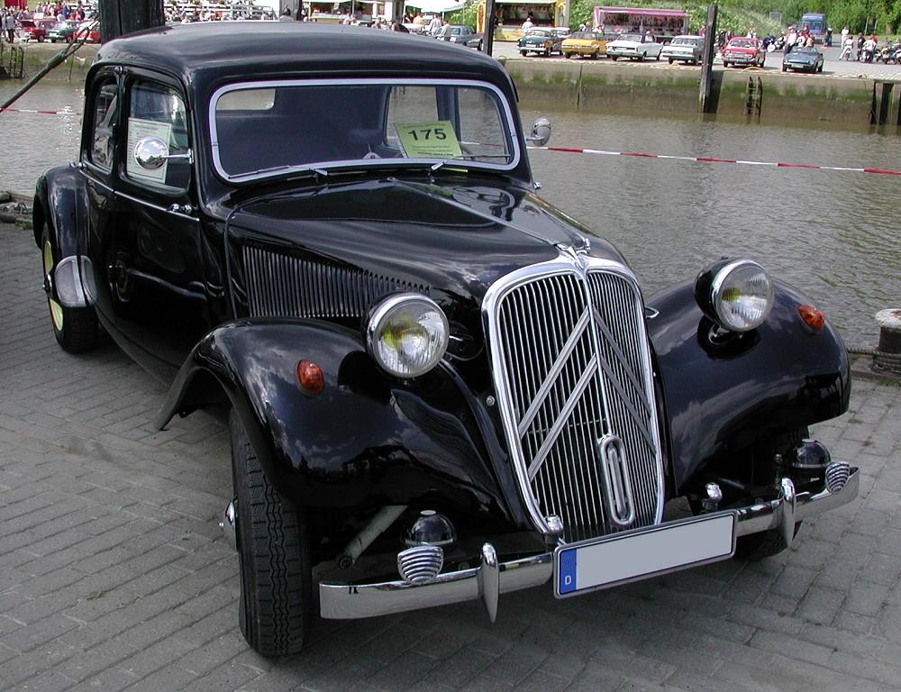 Citroën Traction Avant | Foto: Wikipedia