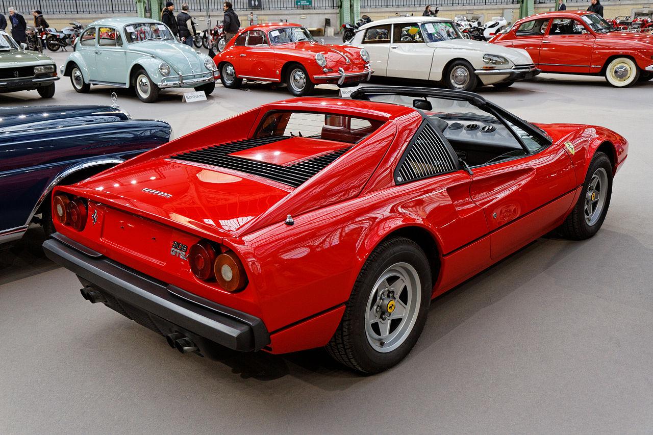 Ferrari 308 GTS | Foto: Wikipedia