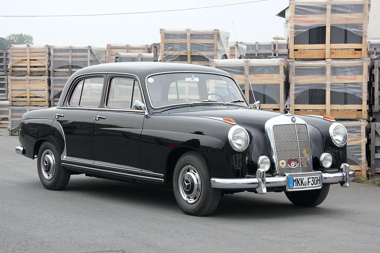 Mercedes W180 Ponton | Foto: Wikipedia
