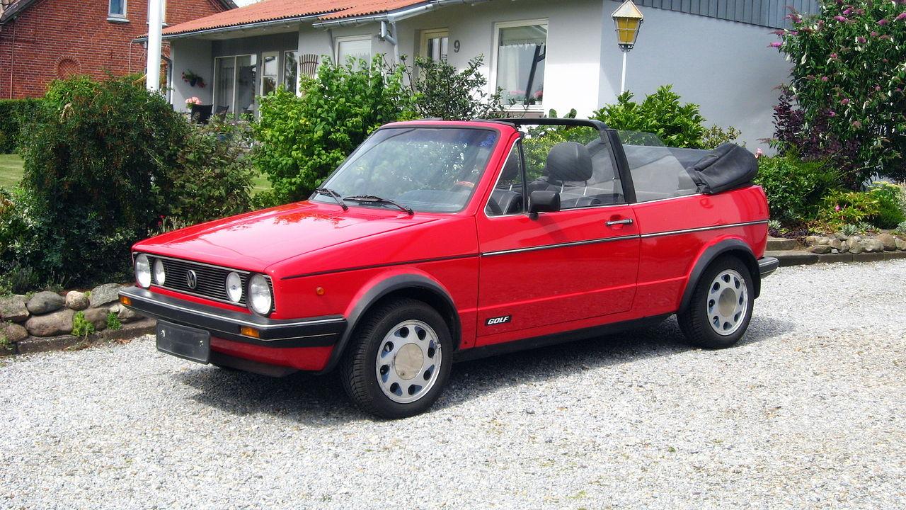 Volkswagen Golf Cabriolet | Foto: Wikipedia
