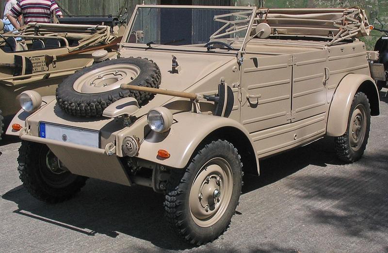 Volkswagen Typ 82 Kübelwagen | Foto: Wikipedia