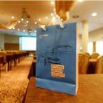 záběry z VVA konference dárková taška