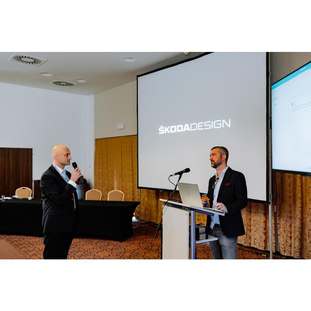 záběry z VVA konference a Škoda Design