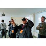 záběry z VVA konference a zkoušení VR