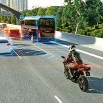 Adaptivní tempomat pro motocykly