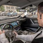 Virtuální A-sloupek v automobilu