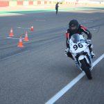 Studentská elektrická motorka soutěže Moto Student