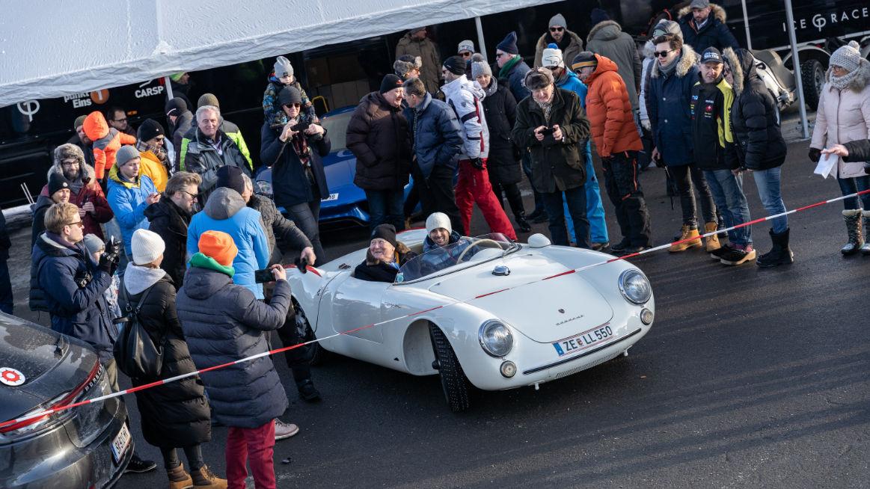 Wolfgang Porsche automobil 550 Spyder