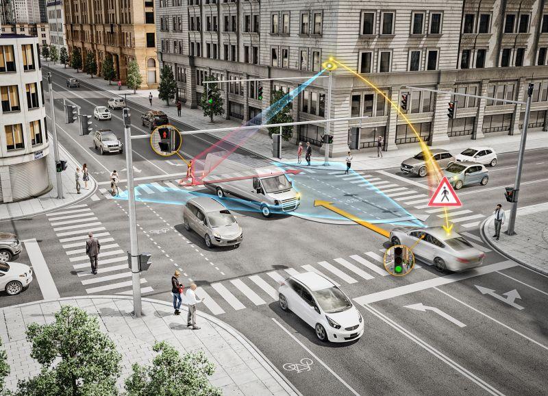 Inteligentní řízení a křižovatka chytré město