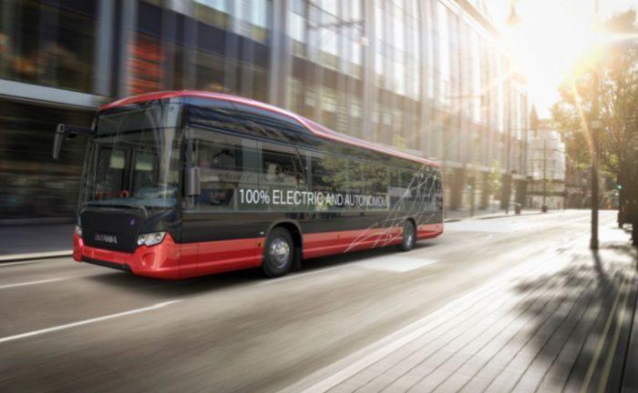 Autonomní autobusy Scania