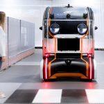 Projekční systém autonomních vozů budoucnosti