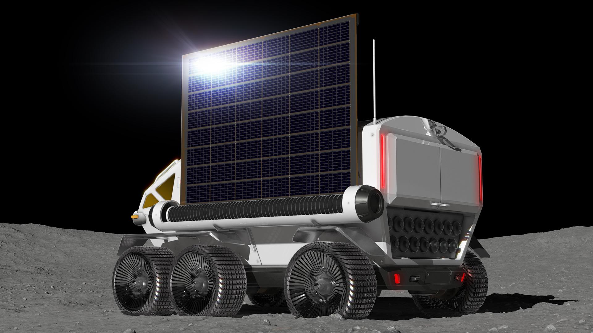 Vozidlo Toyota na Měsíci