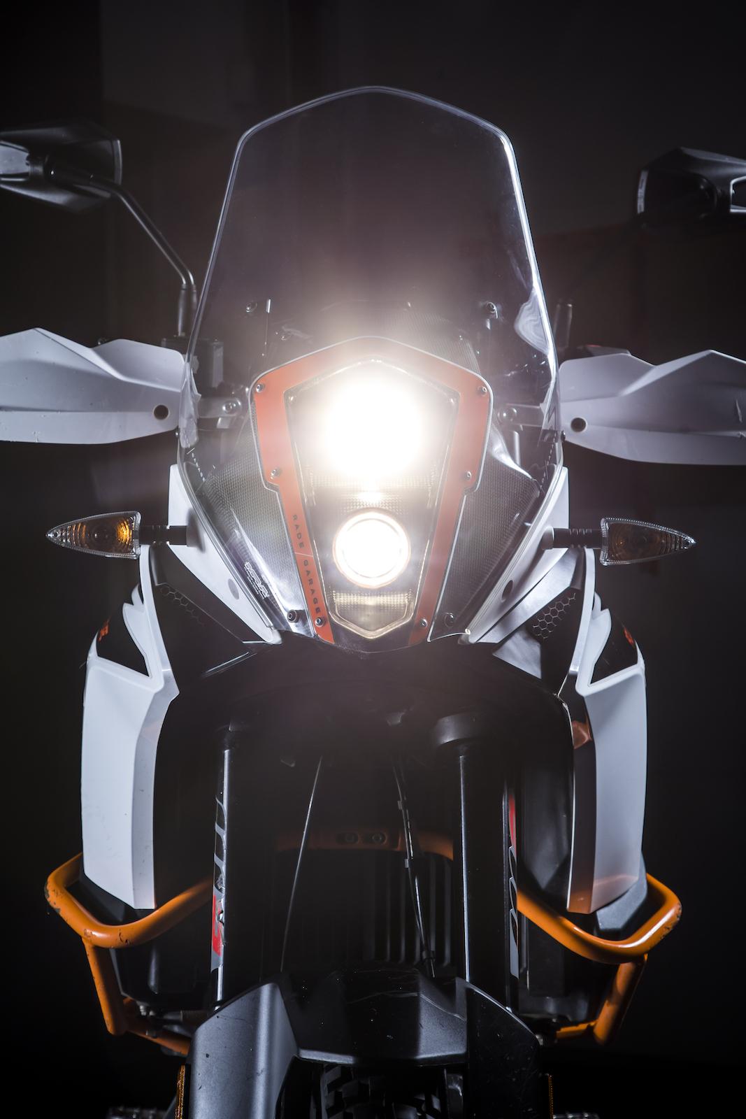 Enduro motocykl KTM