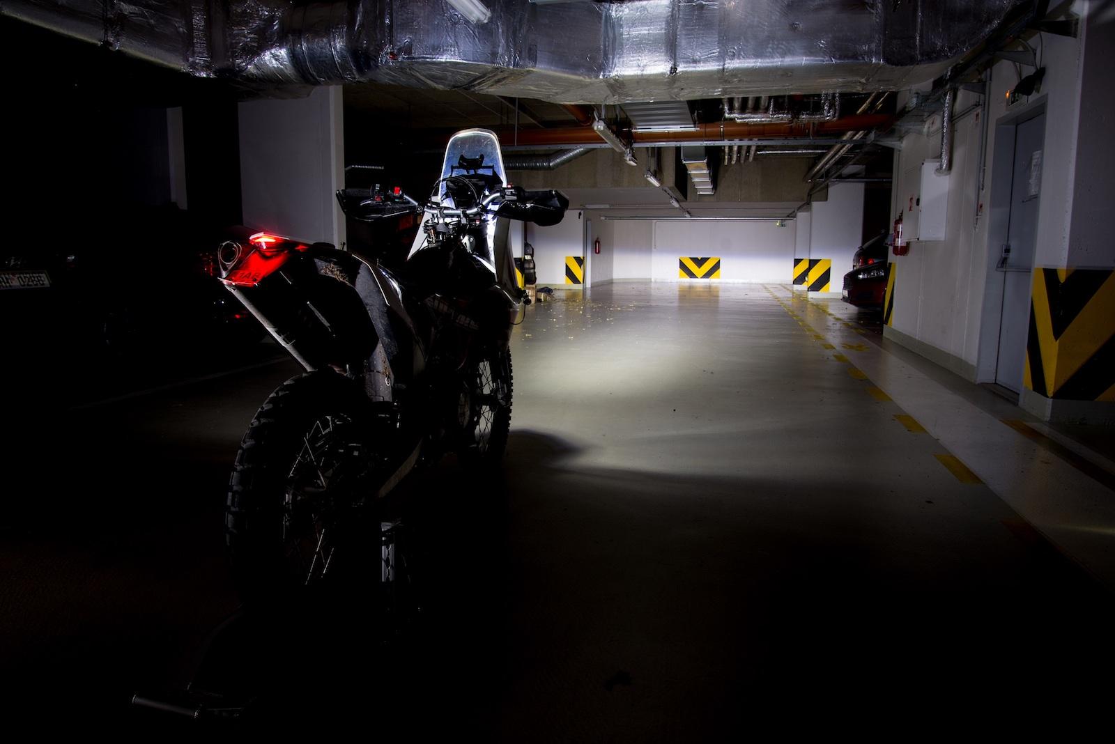 Enduro motorka a její výbava pro rallye