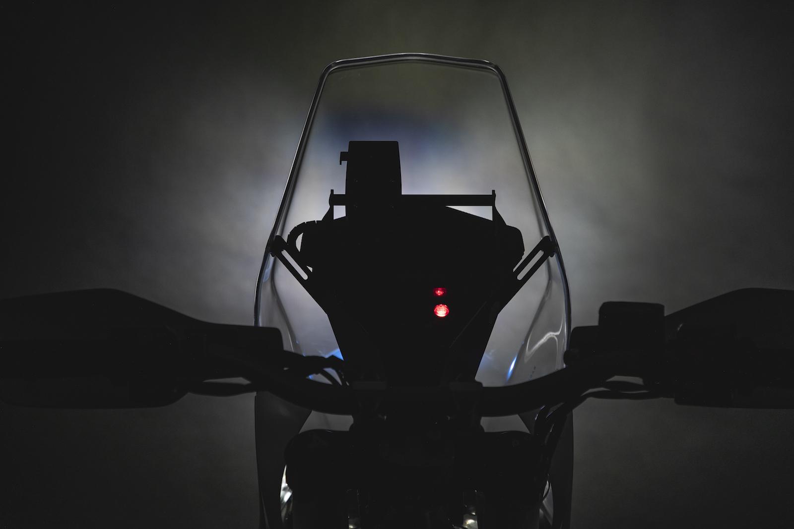 Rallye výbava pro enduro motocykly