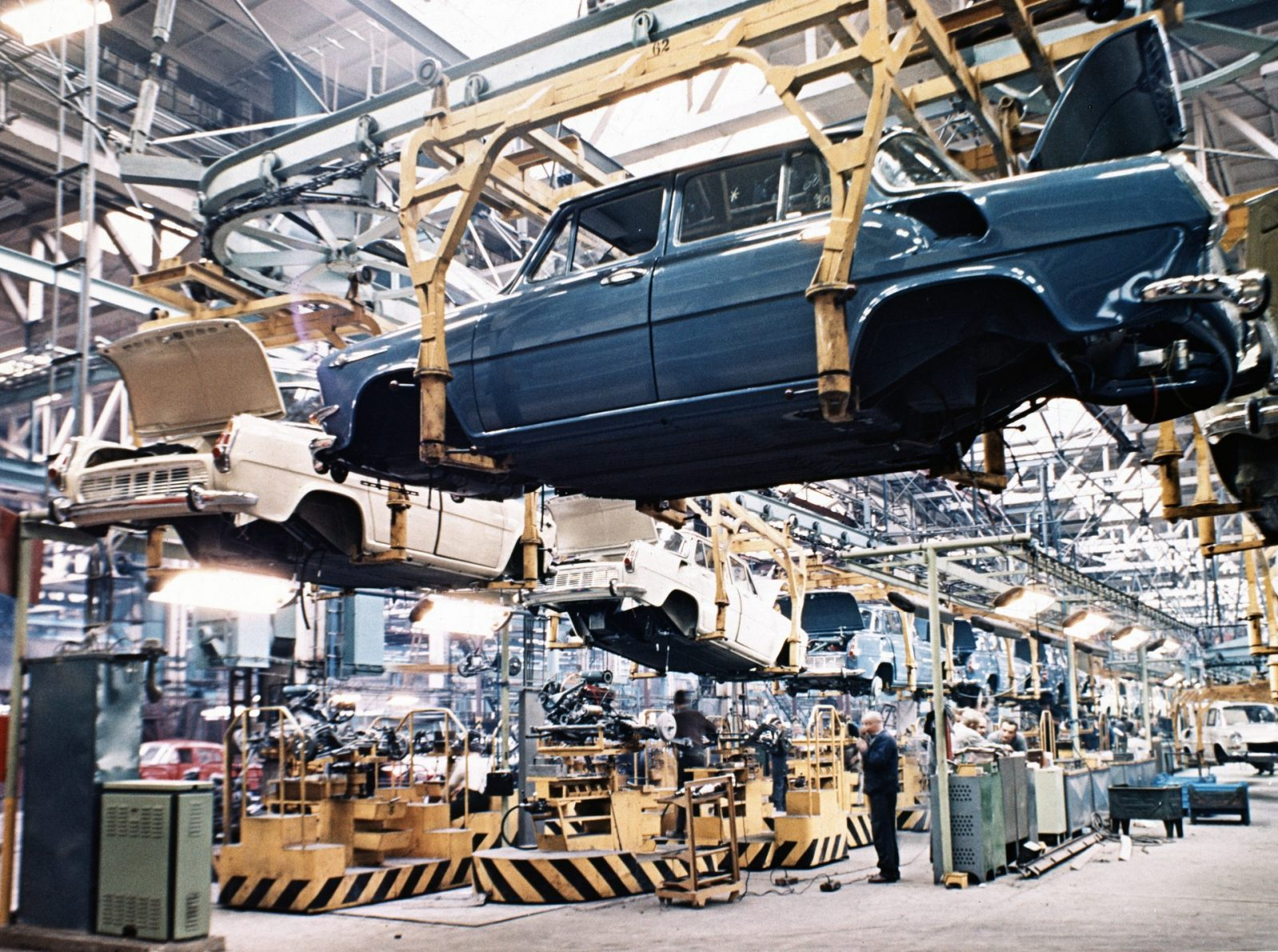 Výroba Škoda 1000 MB