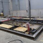 Instalace CNC obráběcího centra Trimill ve společnosti Altran: příprava základů