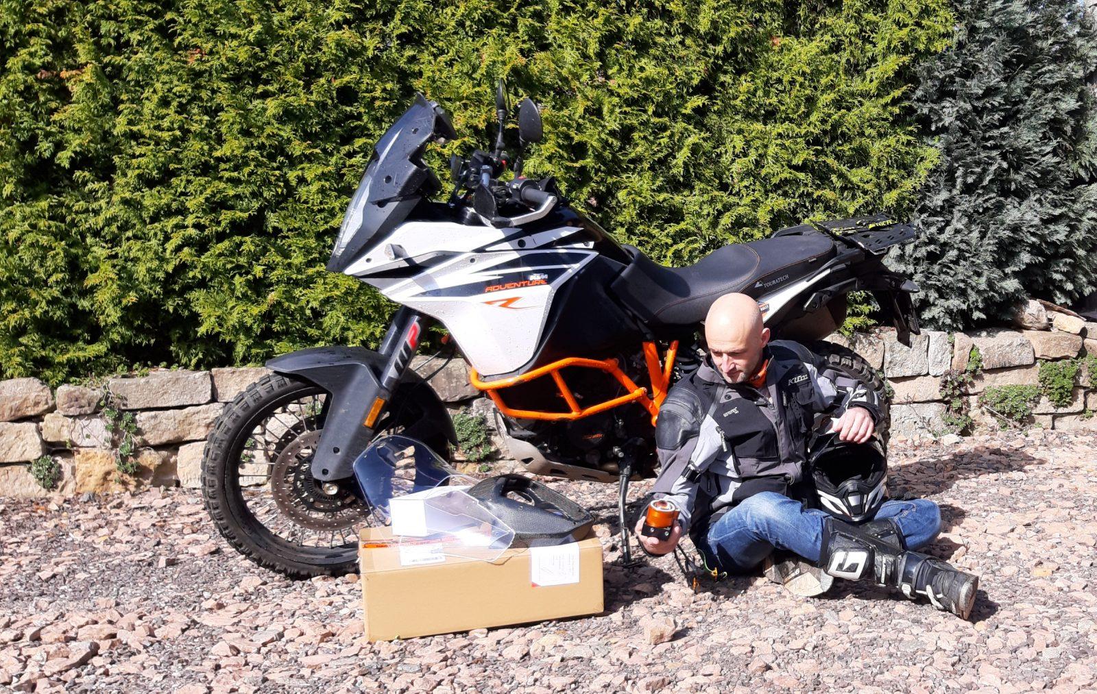 Motorka Petra Havlíka