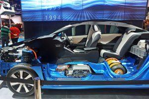 Využití mořské vody na vodíkové palivové články Toyoty Mirai | Foto: Toyota