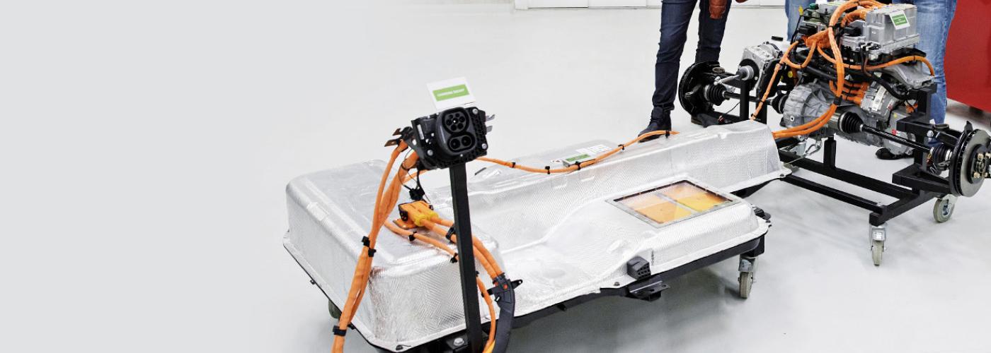 Akumulátor pro elektromobil.