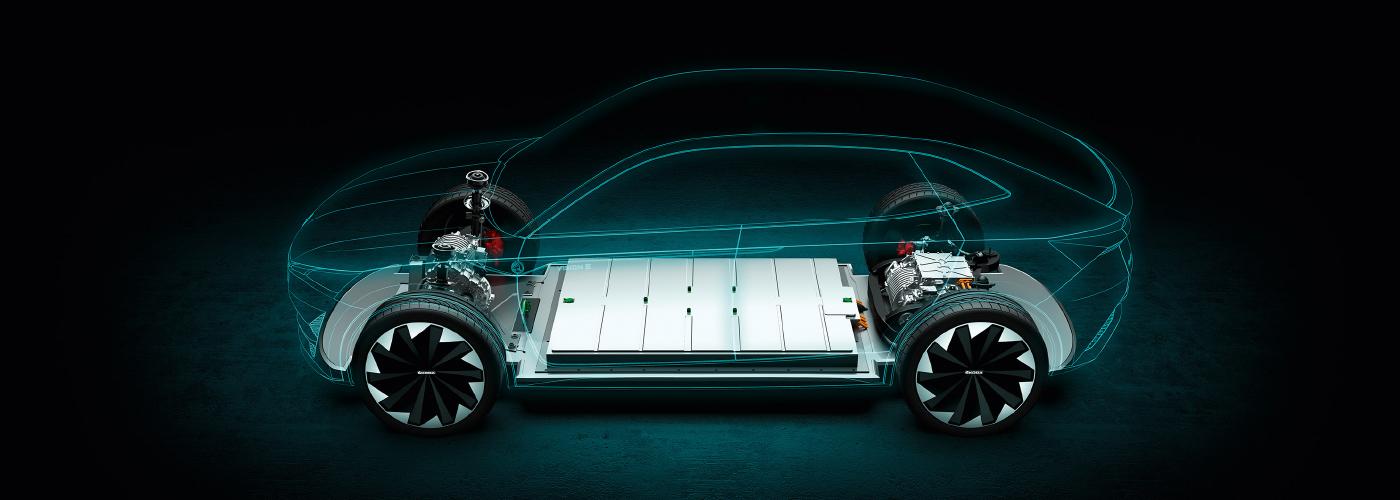 Akumulátor konceptu Škoda Vision E