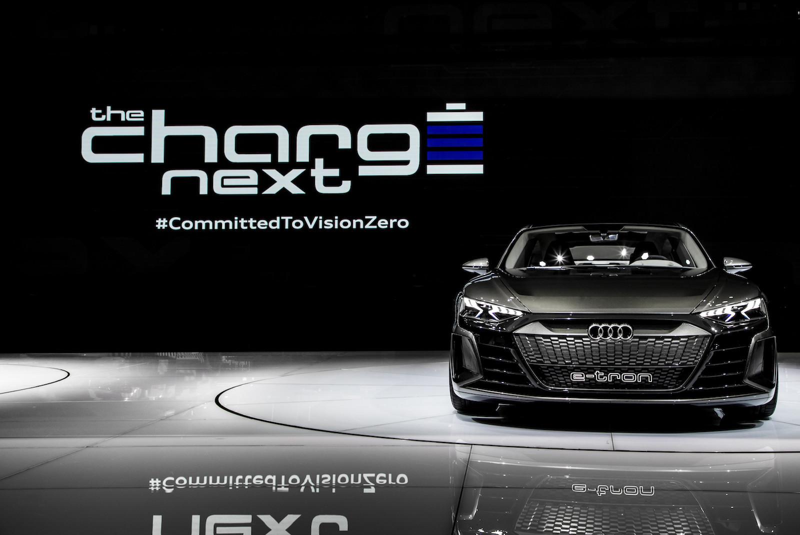 Koncept Audi e-tron GT