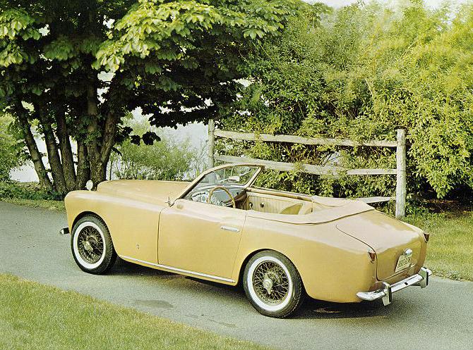 Bertone MG Arnolt Convertible