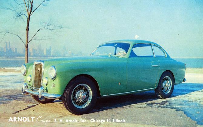 Bertone MG Arnolt Coupe