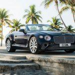 Bentley Continental GT Convertible V8 3, modelový rok 2019, 550 koní a 318 km/h.