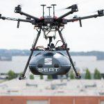 Doprava dilu drony