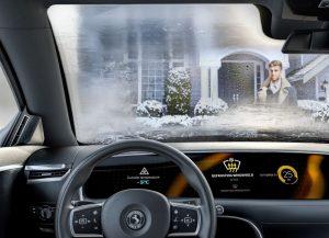 Okna automobilů a aktivní skla