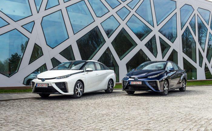 Vodíková auta - Toyota Mirai | Foto: Toyota